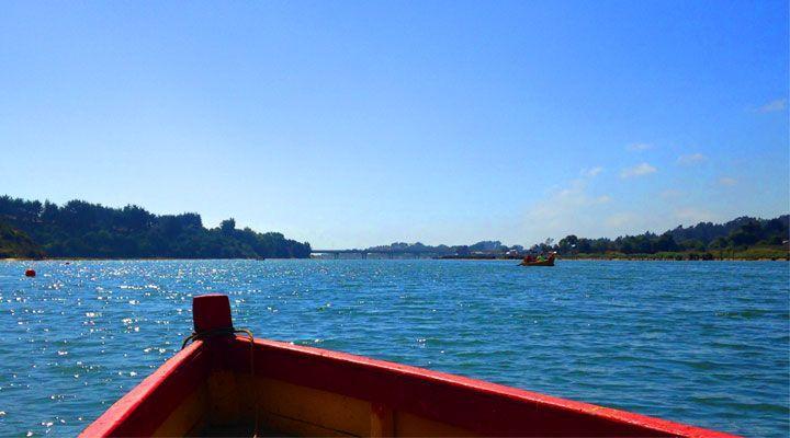 paseo en bote laguna de cahuil