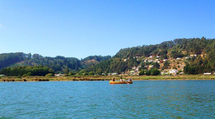 paseo en bote laguna de cahuil pichilemu
