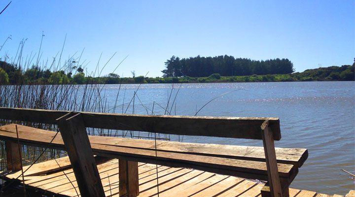 muelle camping laguna del perro pichilemu