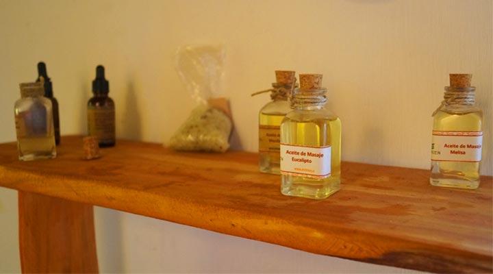 aceites para masajes terra bella spa pichilemu