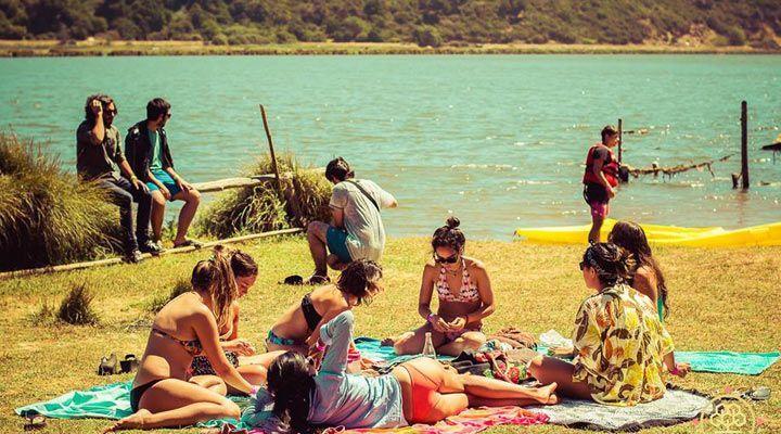 playa camping millaco cahuil pichilemu