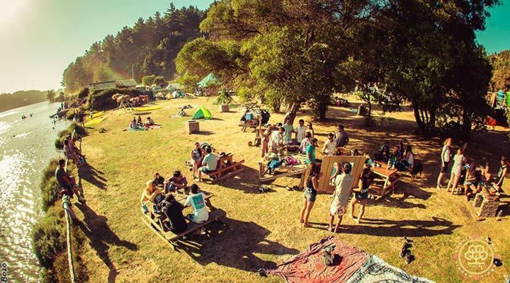 fiesta camping millaco cahuil pichilemu chile