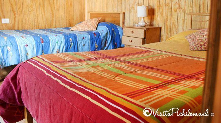 habitacion para 2 personas cabanas las salinas cahuil