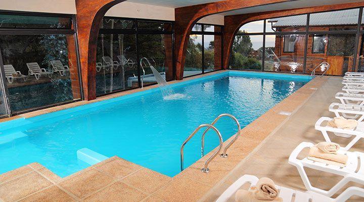 piscina temperada cabanas y spa costa patagonia pichilemu