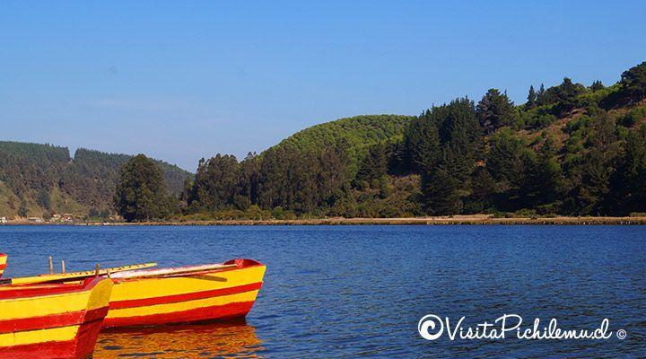 botes laguna de cahuil