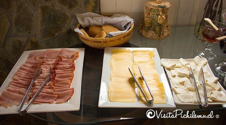 desayuno cabanas lomas de pinares pichilemu