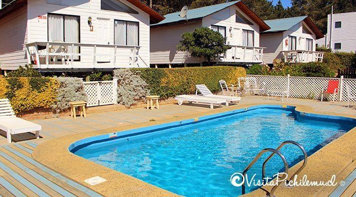 piscina cabanas lomas de pinares