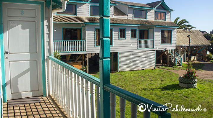 entrada cabana para 5 personas puertas del sol pichilemu