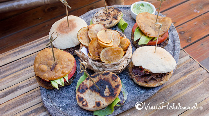 tabla de sandwiches el cardon cafe restobar pichilemu