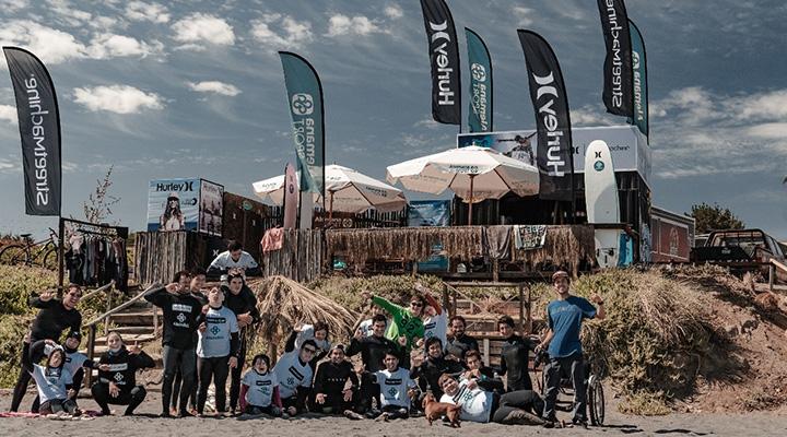 escuela de surf playa grande punta de lobos