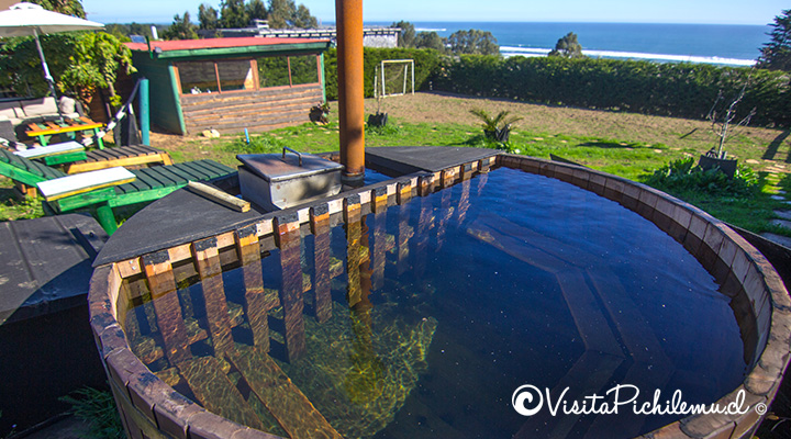 hot tub cabanas little forest pichilemu