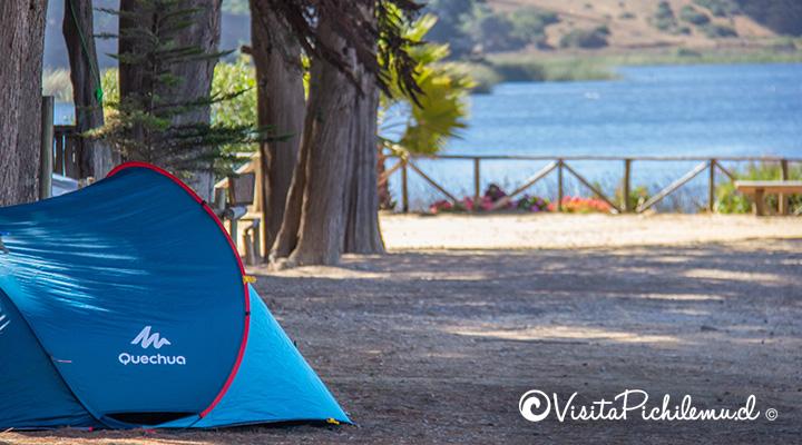 carpa--camping-laguna-del-perro-cahuil-pichilemu